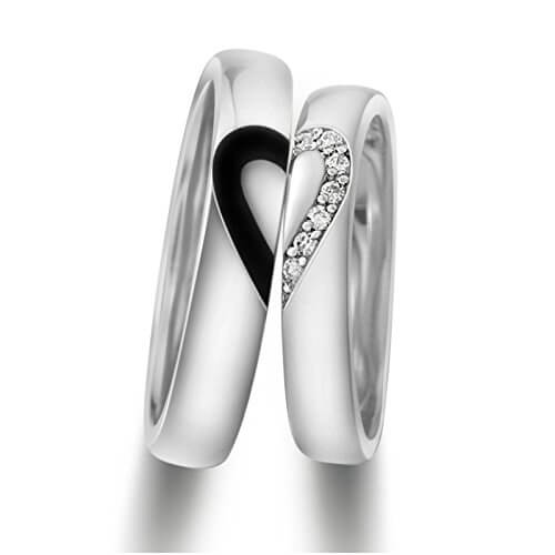Promise Heart Couple Band For Men And Women