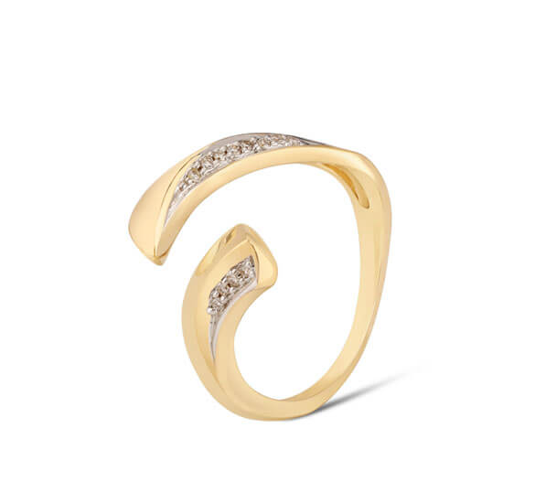Tanishq 14 Karat Gold Finger ring