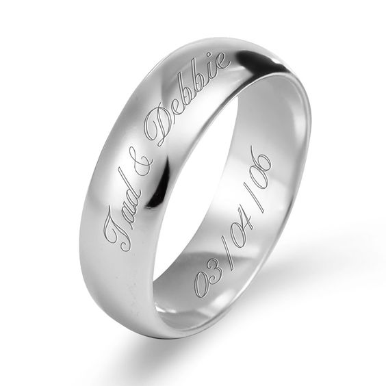 white-gold-band-with-name-and-date-etched