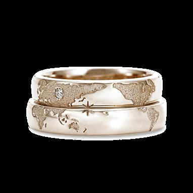 See 26 Absolutely Beautiful Couple Rings Bands Designs
