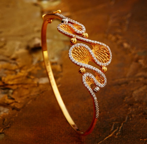 Khazana Jewellery Gold Bracelets Designs 18k