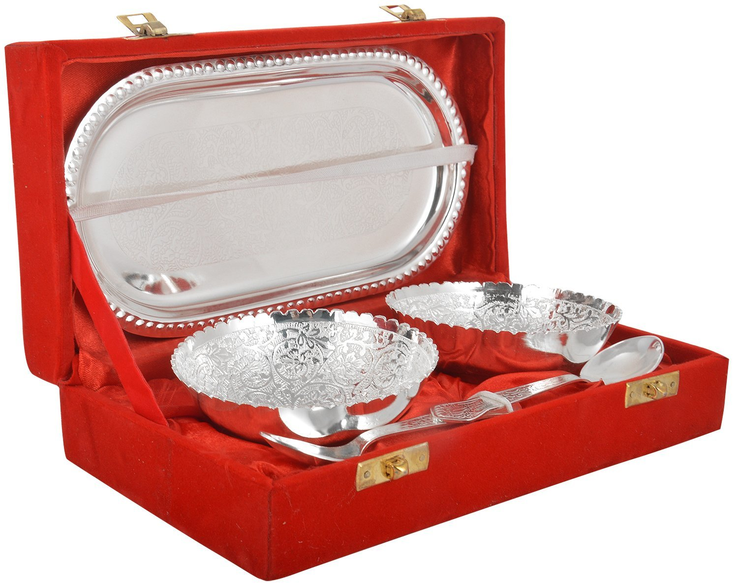 10 Pure Silver Gift Items For Marriage Below 1000
