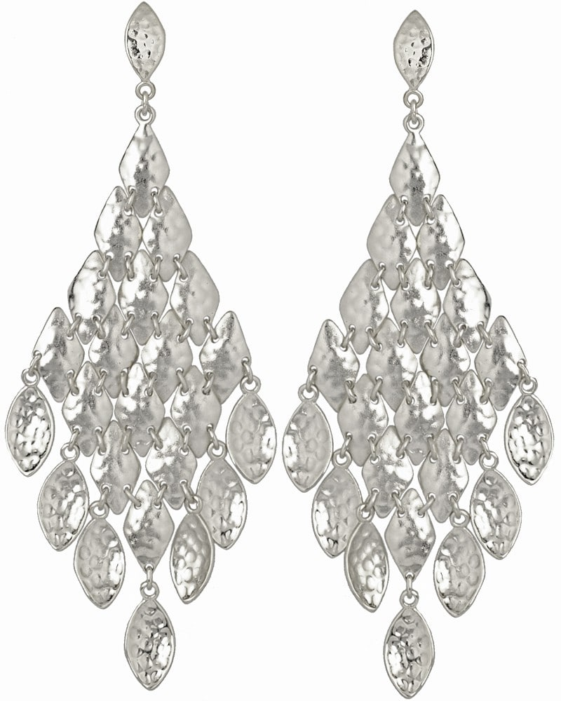 large silver chandelier earrings thesecretconsul