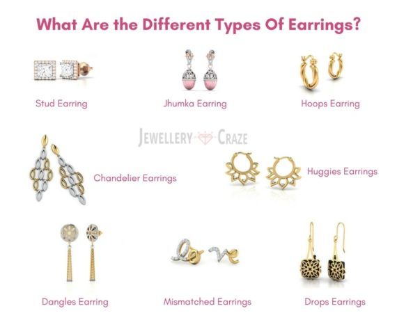 Different Types of Earring Designs