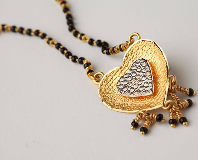 gold mangalsutra designs with price
