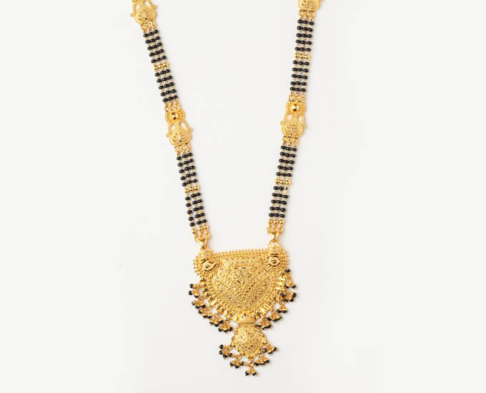 Best Mangalsutra Design In Gold