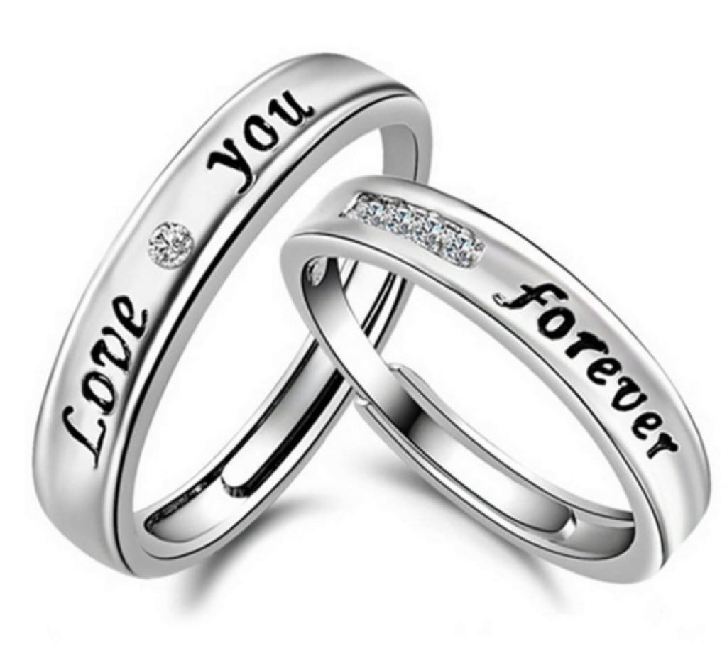 1ae5902ccf81d Silver love ring : Suite hotels vegas