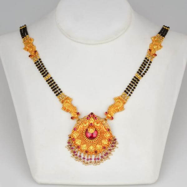 15 Latest Gold Mangalsutra Designs 2019 With Pictures