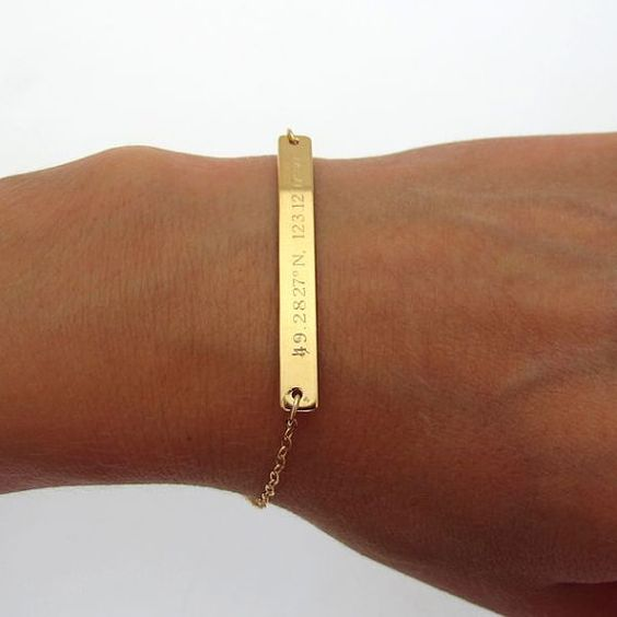 location-engraved-gold-bracelet