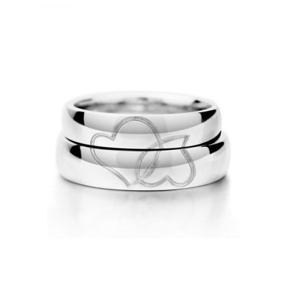 lovers-heart-shaped-couple-rings