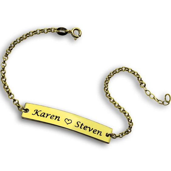 personalized-name-bracelet-in-gold
