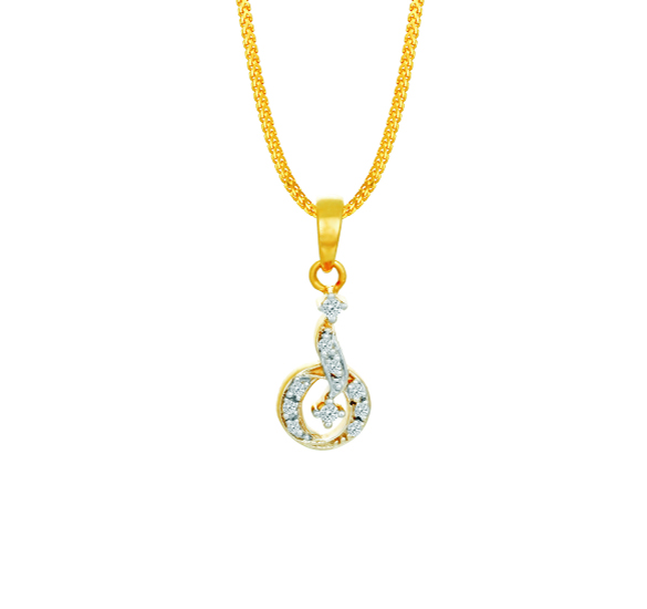 tanishq diamond pendant necklace