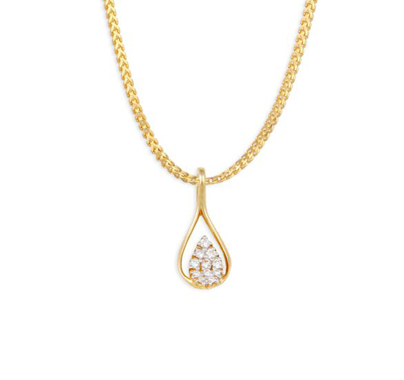 Tanishq Diamond Pendant Designs For Womens Jewellery