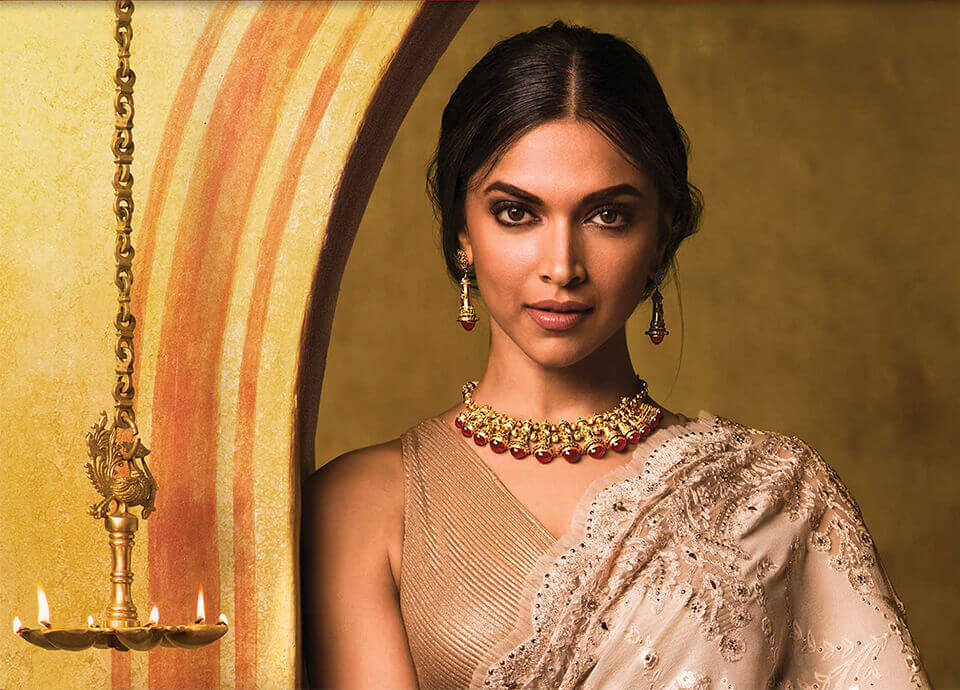 Happy birthday deepika padukone 10 outrageous pieces of for Deepika padukone new photoshoot for tanishq jewelry divyam collection