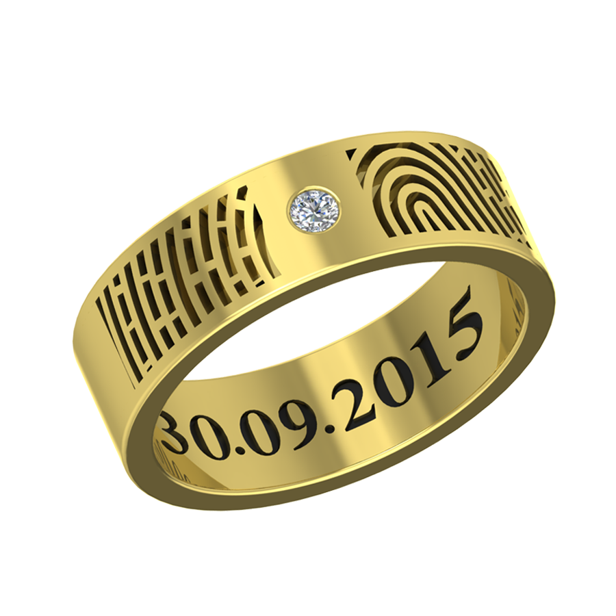 wedding lovely contemporary with name rings engraved ring of