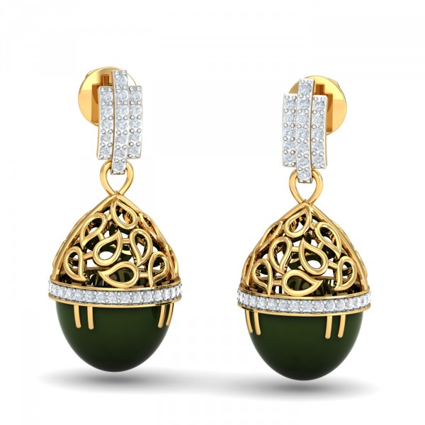 designs of gold jhumka sets