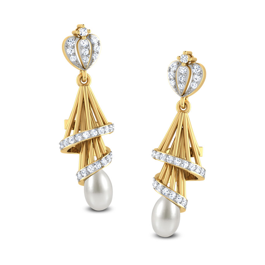 gold jhumka designs pictures