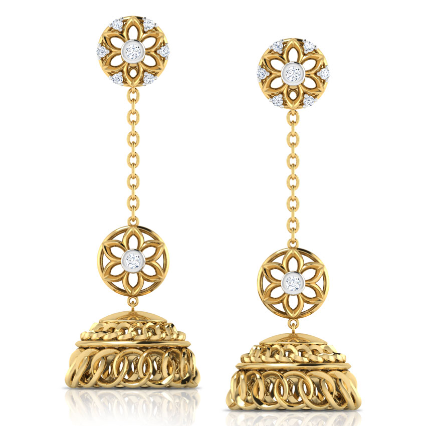 kashmiri jhumka earrings online