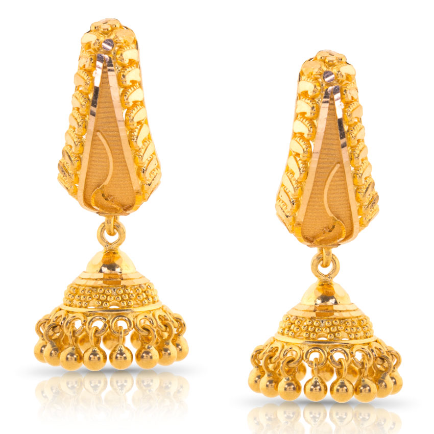 Latest Earrings Designs In Gold
