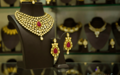 kundan jewellery sets - Kushals fashion jewellery