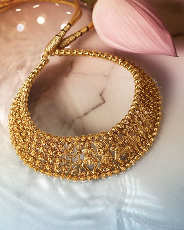 Latest Indian Gold Jewellery Sets Designs For Bridal 2016: South Indian Jewellery Designs For Brides To Look Drop