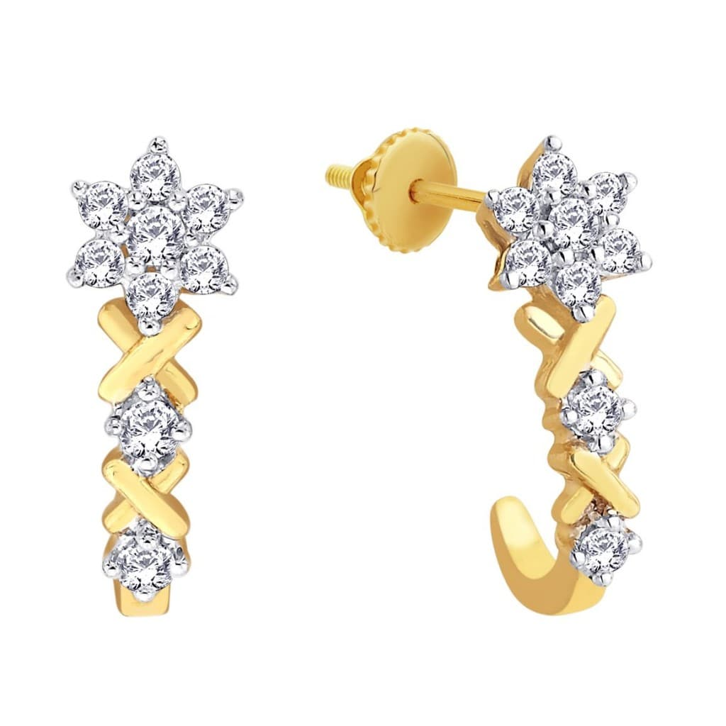 Kerala Home Design: Must Have Tanishq Diamond Earrings Designs