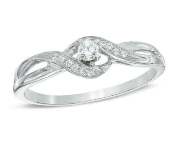 Zales Promise Rings White Gold