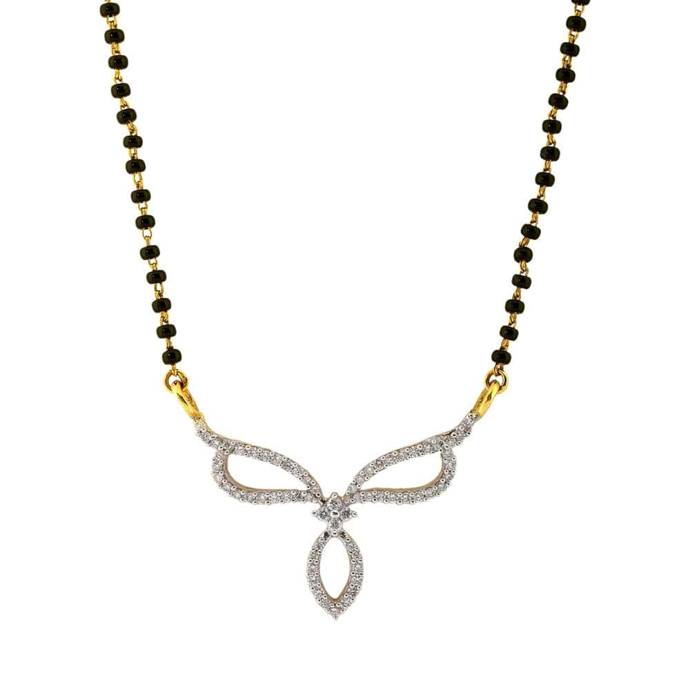 Mangalsutra Designs From Tanishq (Gold & Diamond) for the ...
