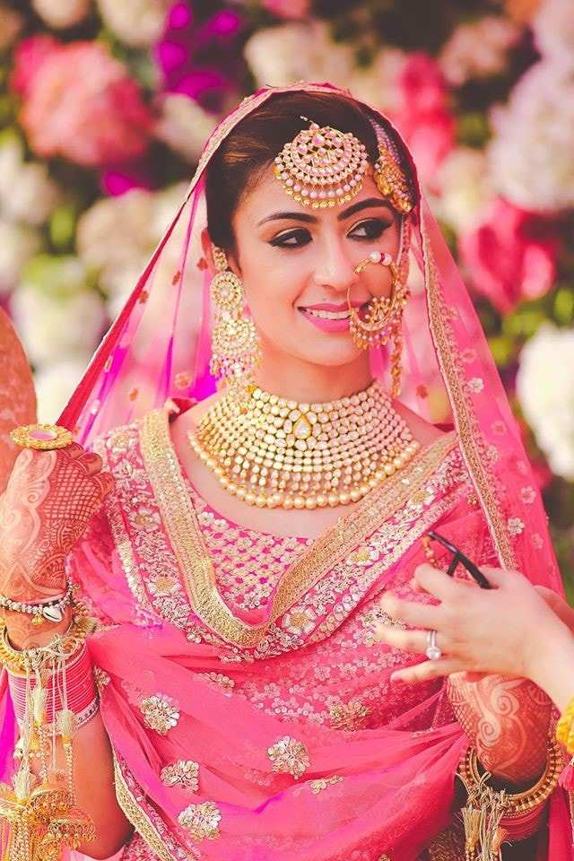 Latest Bridal Necklace Designs We Spotted At Indian Weddings