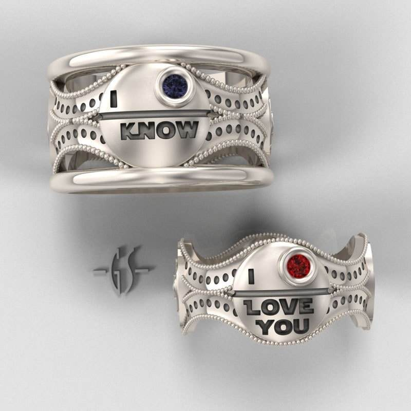 20 Movie Inspired Wedding Rings Awesome Geeky Couples