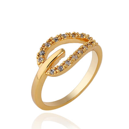 6a271e7c31652 20 Best Simple Gold Ring Designs For Female & Womens