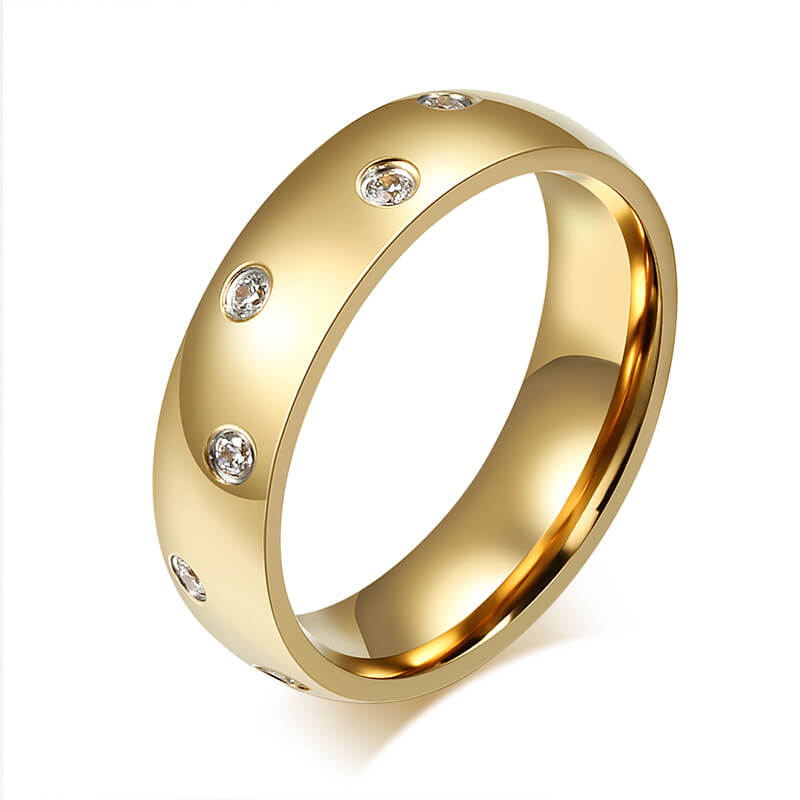 products style junxin gold fashion for filled wedding ring women jewelry black gifts vintage heart girlfriend rings female