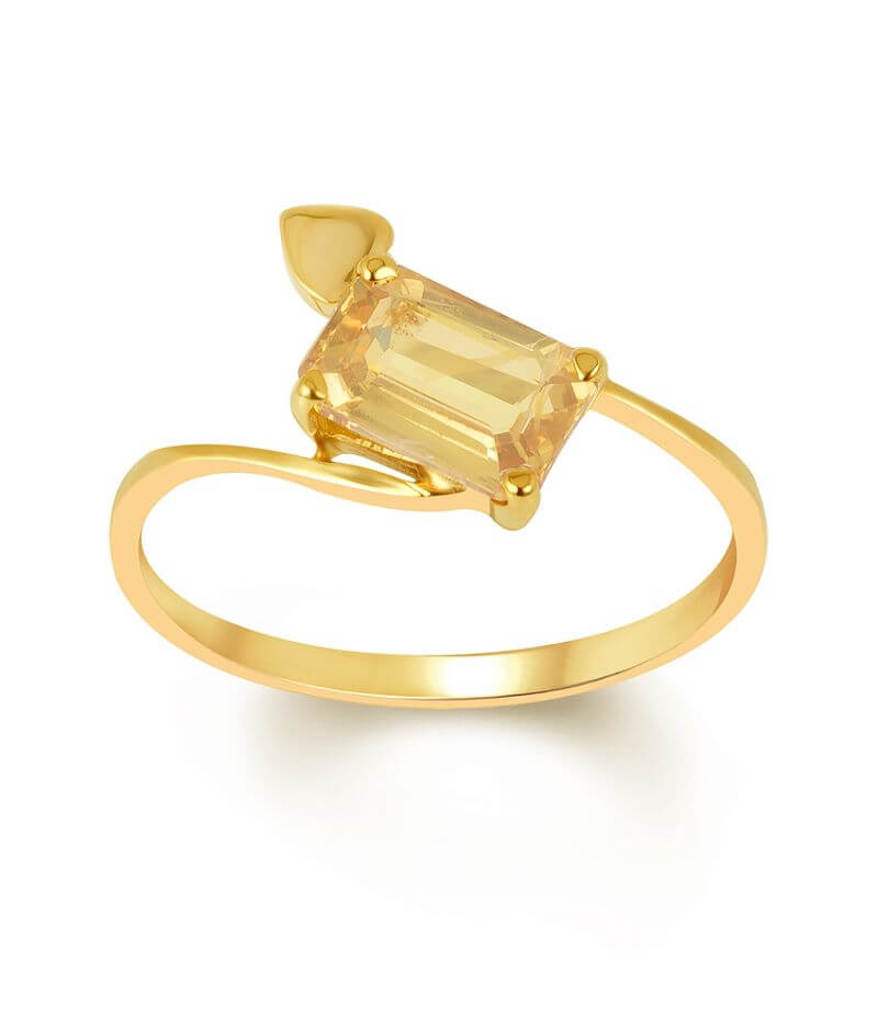 20 Best Simple Gold Ring Designs For Female & Womens