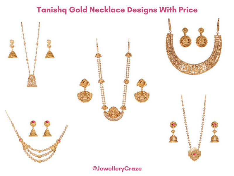 Tanishq Gold Necklace Designs With Price For Every Occasion