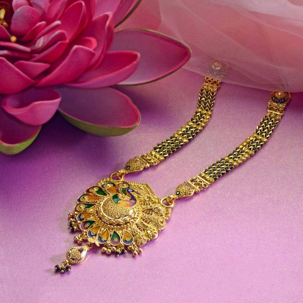 Gold Mangalsutra Designs From Waman Hari Pethe Jewellers